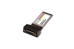 Плата ввода-вывода Digitus Parallel I/O, 1-Port, ExpressCard Add-On Card/b1xDB25 F, Formfactor 34, with Adaptercable PL2305 chipset - фото 71536