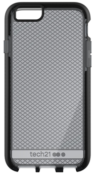 Чехол Tech21 Evo Check iPhone 6/6S Smokey/Black - фото 91418