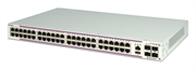 Коммутатор Alcatel-Lucent Ent Коммутатор OS6350-48 Gigabit Ethernet standalone chassis in a 1U form factor with 48 10/100/1000 BaseT ports and 4 Gigabit SFP ports. Includes an internal AC power supply with an EU power cord, user manuals access card, RJ-45