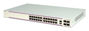 Коммутатор Alcatel-Lucent Ent Коммутатор OS6350-P24 Gigabit Ethernet 1RU chassis with 24 PoE 10/100/1000 BaseT ports and 4 Gigabit SFP ports. Includes an internal AC power supply 380W power budget) with an EU power cord, user manuals access card, and RJ-4