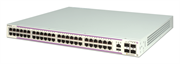 Коммутатор Alcatel-Lucent Ent Коммутатор OS6350-P48 Gigabit Ethernet 1RU chassis with 48 PoE 10/100/1000 BaseT ports and 4 Gigabit SFP ports. Includes an internal AC power supply 780W power budget) with an EU power cord, user manuals access card, and RJ-4