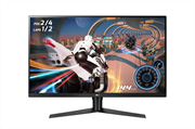 Монитор жидкокристаллический LG Монитор LCD 31.5'' [16:9] 2560х1440(WQHD) VA, nonGLARE, 350cd/m2, H178°/V178°, 3000:1, 16.7M, 5ms, 2xHDMI, DP, USB-Hub, Height adj, Pivot, Tilt, Swivel, USB-С, Audio out, 2Y, Black-Red