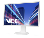 Монитор жидкокристаллический NEC Монитор LCD 22'' [16:10] 1680х1050 TN, nonGLARE, 250cd/m2, H170°/V160°, 1000:1, 16,7M Color, 5ms, VGA, DVI, DP, Height adj., Pivot, Tilt, HAS, Swivel, 3Y, White