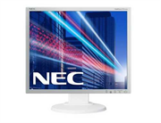 Монитор жидкокристаллический NEC Монитор LCD 19'' [5:4] 1280х1024 IPS, nonGLARE, 250cd/m2, H178°/V178°, 1000:1, 16,7M Color, 6ms, VGA, DVI, DP, Height adj., Pivot, Tilt, HAS, Swivel, 3Y, White