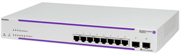 Коммутатор Alcatel-Lucent Ent Коммутатор OS2220-8: WebSmart Gigabit standalone chassis in 1RU size. Includes 8 RJ-45 10/100/1G BaseT and  2xSFP ports, AC supply, EU power cord and user guides.