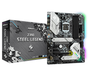 Плата материнская Asrock Asrock Z390 STEEL LEGEND, LGA1151, Intel Z390, ATX, BOX