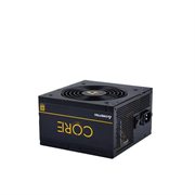 Блок питания Chieftec Chieftec BBS-600S CORE 600W, ATX 12V 2.3 PSU, W/12cm Fan,80 plus Gold