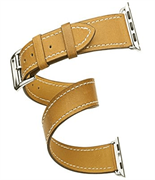 Ремешок Cozistyle Cozistyle Double tour leather watch band - Tan
