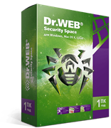 DrWeb Dr.Web Security Space, КЗ, на 12 мес.,1 лиц. (ESD)
