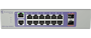 Коммутатор Extreme 220-Series 12 port 10/100/1000BASE-T PoE+, 2 10GbE unpopulated SFP+ ports, 1 Fixed AC PSU, L2 Switching with RIP and Static Routes, 1 country-specific power cord
