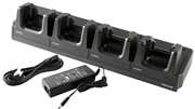 Зарядное устройство HONEYWELL EDA60K four-bay terminal charging cradle for recharging 4 devices. Kit includes dock, power supply and EU power cord.