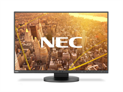 Монитор жидкокристаллический NEC Монитор LCD 24'' [16:10] 1920х1200(WUXGA) IPS, nonGLARE, 300cd/m2, H178°/V178°, 1000:1, 5K:1, 16.7M, 5ms, VGA, DVI, HDMI, DP, USB-Hub, Height adj, Pivot, Tilt, Swivel, Speakers, 3Y, Black